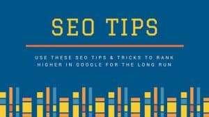 google seo tips