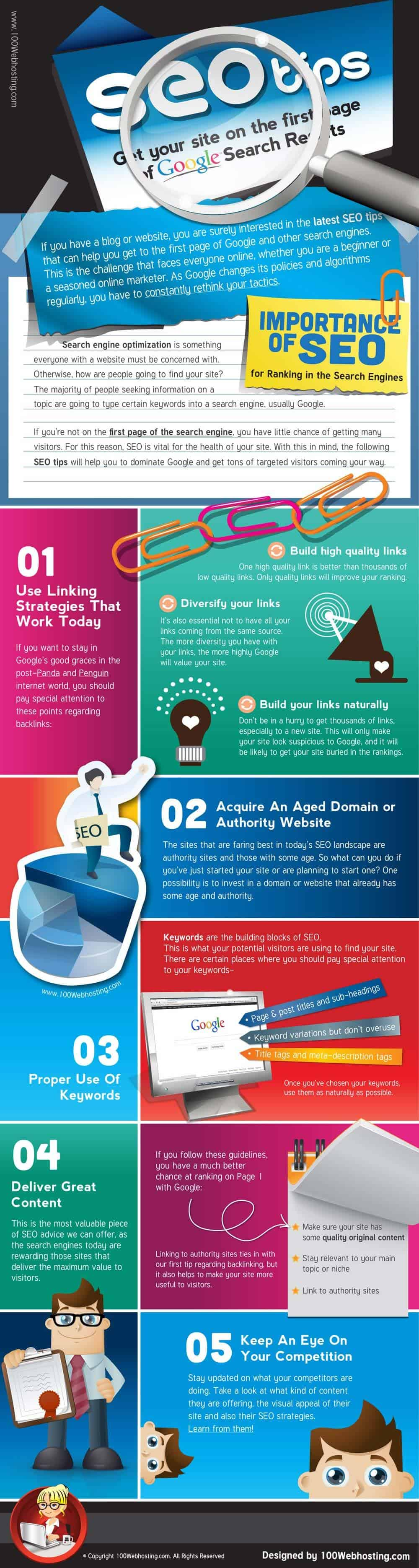 SEO TIPS TO RANK HIGH IN GOOGLE