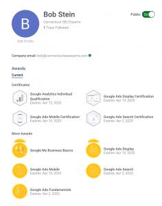 Google Ads & Analytics Certified
