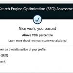 LinkedIn Google SEO Skills Test